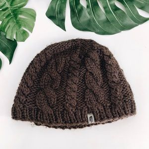 The North Face Wool Fleece Lined Knit Winter Hat
